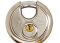 "2-3/4 "" DISC LOCKS TOP QUALITY STAINLESS STEEL"